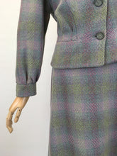 Load image into Gallery viewer, RESERVED DO NOT BUY - Original Early 1950's 2pc Wool Suit - In A Lovely Springtime Colour Pallet