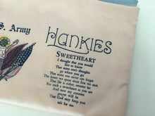 Load image into Gallery viewer, Original 1940's Sweetheart Hankie Case - A Darling Keepsake Piece For Smalls