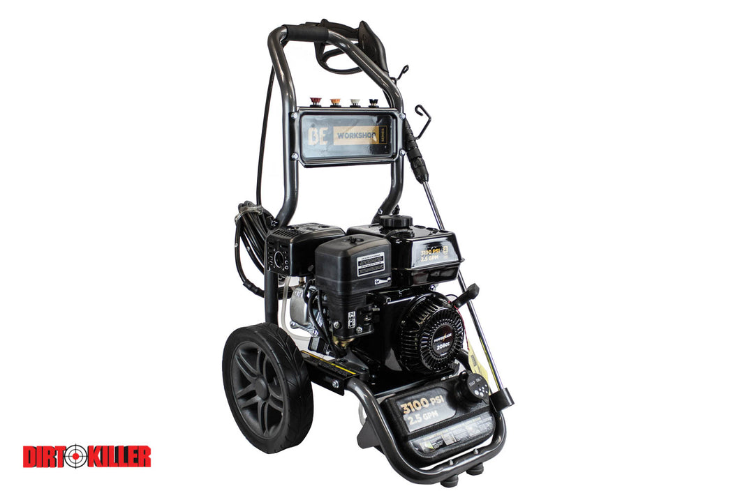 BE v7 Gas Pressure Washer