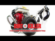 Load and play video in Gallery viewer, Dirt Killer H357 3000 PSI 2.5 GPM Gas Pressure Washer - Honda