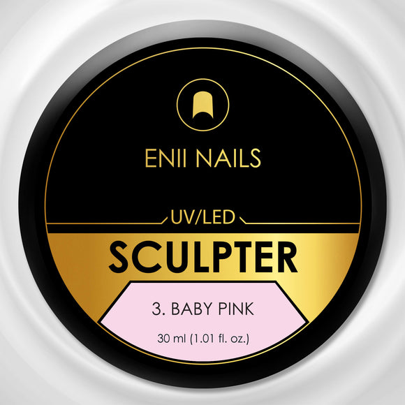 SCULPTER 3. BABY PINK 5 ML - BUILDER UV/LED GEL