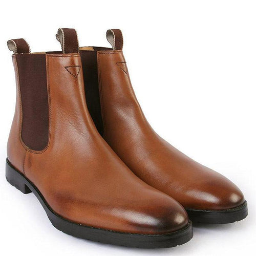 Wellington Dealer Boots in Leather