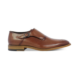 Dinsmore Plain Toe Monk Strap Loafers-monk-straps-Elitify