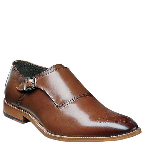 Stacy Adams Dinsmore Plain Toe Monk Strap Loafers