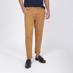 Camel Bond Fit Washed Chino