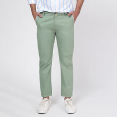 Pistachio Bond Fit Washed Chino