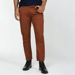 Chestnut Bond Fit Washed Chinos