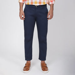 Jet Blue Bond Fit Washed Chino