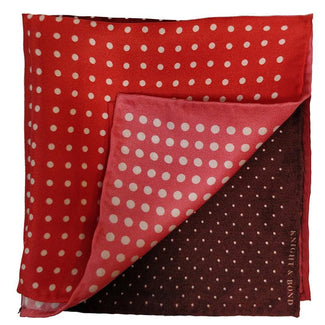 Polka Dots Pocket Square-Knight & Bond-Elitiy