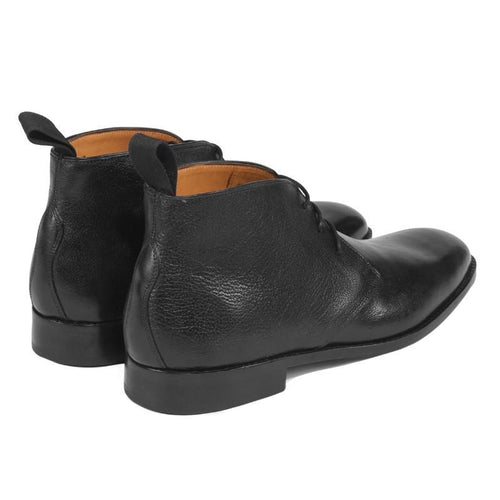 Knight & Bond-glastonbury chukka boots -Black