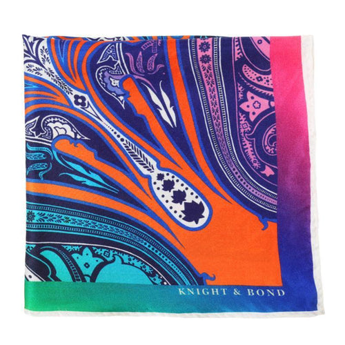 Cappadocia Pocket Square-Knight & Bond-Elitify