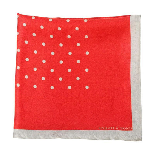 Swiss-Dot Pocket Square-Knight & Bond-Elitify