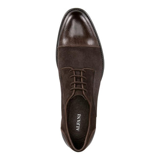 Avery Suede Cap-Toe Oxfords-Alfani-Elitify