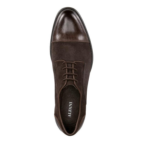 Avery Suede Cap-Toe Oxfords-oxford-Elitify