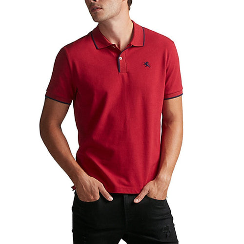 Small Lion Stretch Pique Polo-Express-Elitify