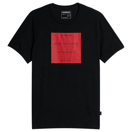 Brand That Unites Raised Graphic Tee-Express-Elitify
