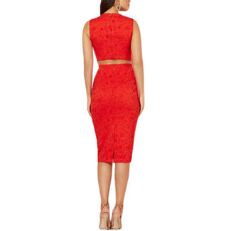 Graziela Cutout Sheath Dress-New York & Company-Elitify