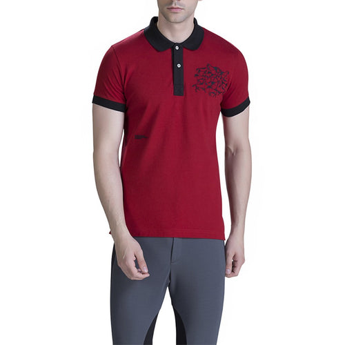 "Horse Embroided Polo-Genes Lecoanet Hemant-""Elitify"