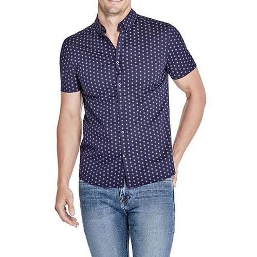 Ryan Printed Shirt-Guess-Elitufy