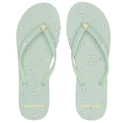 Printed Thin Flip-Flop-Tory Burch-Elitify