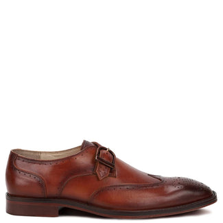 Bale Single Monkstrap,Knight & Bond-Elitify