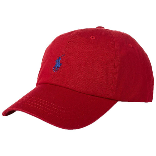 Cotton Chino Baseball Cap-Polo Ralph Lauren-Elitify