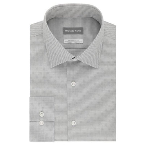 Checkered Button-Down Shirt- Michael Michael Kors-Elitify