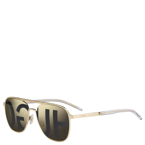 Hugo Boss Men Gold  Sunglasses-Elitify