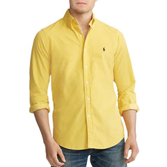 Polo Ralph Lauren Men Classic Fit Corduroy Sport Shirt-Elitify