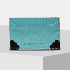 Tiger Marron Men Aqua Cardholder-Elitify