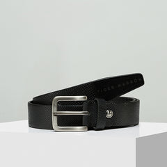 Tiger Marron Men The Dotted Line Belt-Elitify