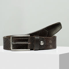 Tiger Marron Men Loop Me In Belt-Elitify