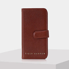 Tiger Marron No Hang Ups Mobile Cover-Elitify
