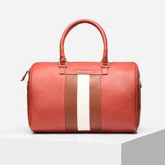 Tiger Marron Men Ballin Duffle Bag-Elitify