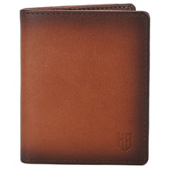 Knight and Bond Men Bermondsey Bi-Fold Card Case-Agate-Elitify