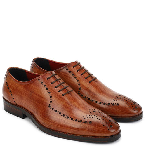 Rainier Wholecut Oxfords-Knight & Bond-Elitify