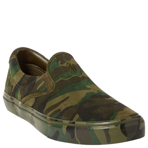 Thompson Suede Slip-On Sneakers-Polo Ralph Lauren-Elitify