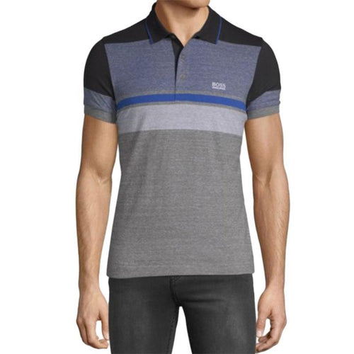 Colorblock Cotton Polo-Hugo Boss-Elitify