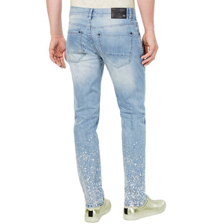 Slim-Fit Paint Splatter Jeans-INC International Concepts-Elitify