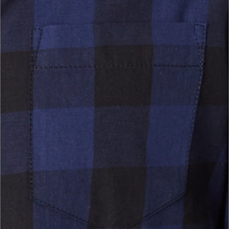 Blue Men Buffalo Plaid Pocket Shirt -American  Rag-Elitify