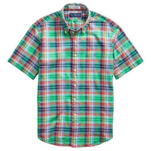 Classic-Fit Madras Shirt-Polo Ralph Lauren-Elitify