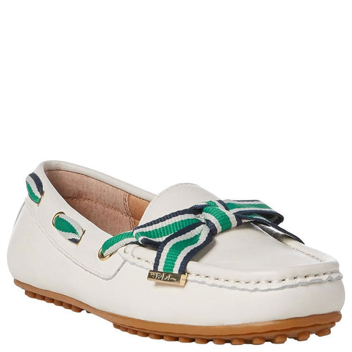 White Women Becka Loafers-Lauren Ralph Lauren-Elitify