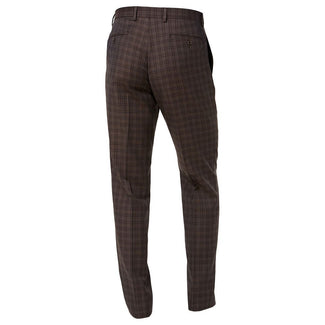 Classic-Fit Windowpane Flannel Dress Pants-Lauren Ralph Lauren-Elitify