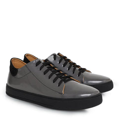 Knight & Bond Men Marlon Men's Low Top Leather Sneakers-Elitify