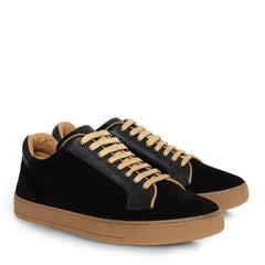Knight & Bond Men Davis Men's Low Top Suede Sneakers-Elitify