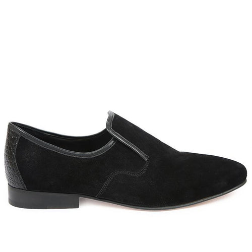 Stingray Velvet Formal Loafer Black