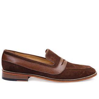 Knight & Bond Snuff Suede Loafers