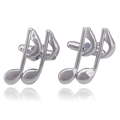 Musical Note Cuff Links -Knight & Bond-Elitify