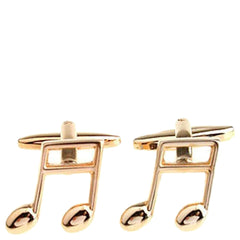 Knight and Bond Men Musical Note Cuff Links-Elitify