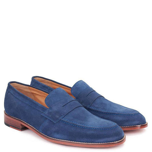 Knight & Bond Belfast Suede Penny Loafers